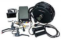 Электрический велонабор мотор-колесо 72В 5000Вт, 72В 80A синусоидный контроллер с беспроводным датчиком, цветной дисплей, ручка газа, тормозные ручки