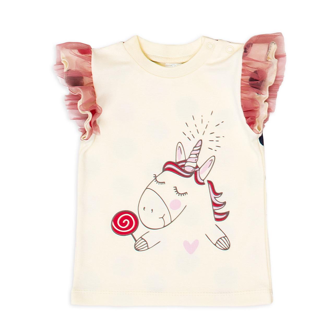 Футболка Baby Veres Sweet Unicorn интерлок