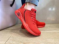Женские кроссовки сетчатые летние красные высокого качества на ПВХ подошве!