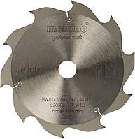 Пильный диск Metabo Power cut HW/CT 160х2.2/1.4x20, Z10 WZ 22°