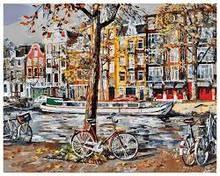 Картина за номерами Білосніжка «Осінній Амстердам»
