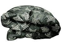Одеяло полуторное холлофайбер, хлопок 150 х 210 см бязь №16