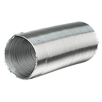 Воздуховод алюминиевый ВЕНТС Алювент 80\3 метра, гофра, фото 1