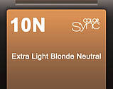 10N (очень-очень светлый блондин) Тонирующая крем-краска для волос без аммиака Matrix Color Sync,90 ml, фото 2