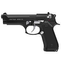 Пистолет сигнальный, стартовый Retay Beretta 92FS Mod.92 (9мм, 15 зарядов), черный/никель, фото 1