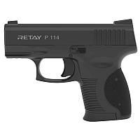 Пистолет сигнальный стартовый Retay P114 (9мм, 6 зарядов), черный, фото 1