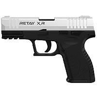 Пистолет сигнальный стартовый Retay XR (9мм, 14 зарядов), хром, фото 1