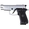 Пистолет сигнальный, стартовый Retay Beretta M 84FS Cheetah (9мм, 9 зарядов), хром