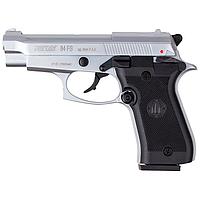 Пистолет сигнальный, стартовый Retay Beretta M 84FS Cheetah (9мм, 9 зарядов), хром, фото 1