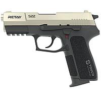 Пистолет сигнальный стартовый Retay S22 (9мм, 18 зарядов), сатин, фото 1