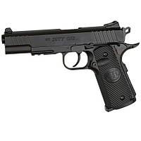 Пистолет пневматический ASG STI Duty One Blowback (4,5mm), черный