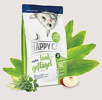 Сухой корм для кошек Happy Cat Sensitive Land Geflugel 4кг