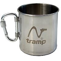 Кружка Tramp TRC-012 (0,3л), стальная, с карабином