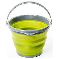 Ведро складное силиконовое Tramp TRC-092-olive, фото 1