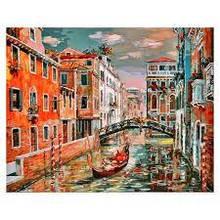 Картина по номерам Белоснежка Венеция. Канал Сан Джованни Латерано