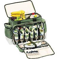 Набір для пікніка Ranger Rhamper Lux (посуд на 6 персон + сумка з термо-відсіком), фото 1