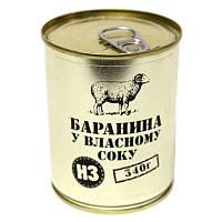 Тушенка из баранины, консерва (340г), ж/б, фото 1
