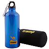 Бутылка Tramp TRC-033 (0,6л), синяя, чехол неопрен