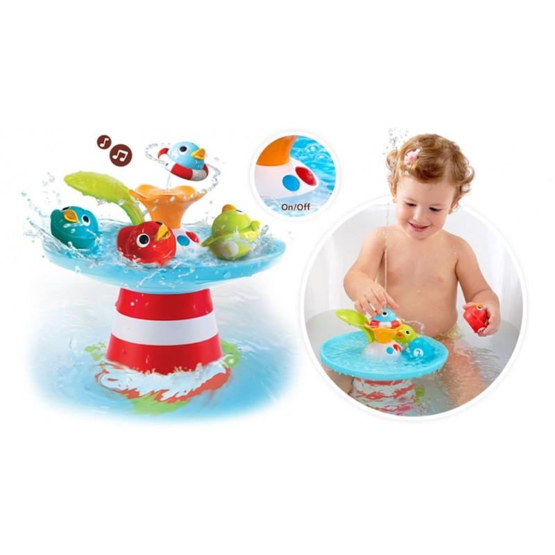 Музыкальная игрушка-фонтан Yookidoo Утиные гонки (40138)