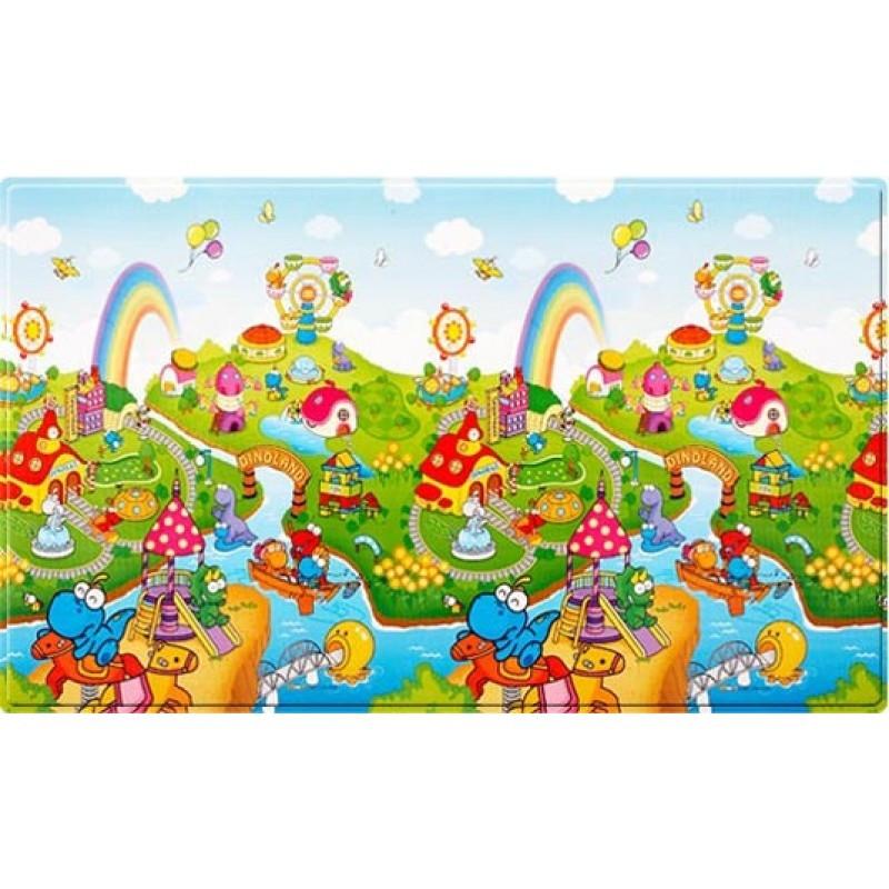 Розвиваючий килимок Dwinguler Dino Land російський алфавіт 2300х1400х15 мм