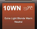 10WN (теплый очень-очень светлый блондин натуральный) Крем-краска для волос безаммиака Matrix Color Sync,90 ml, фото 2