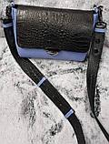 Сумка кожаная женская от производителя модель СК130, фото 6