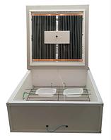 Інкубатор «Курочка Ряба» ІБ-130Ц + вентилятор, механічний переворот, інфрачервоний, цифровий терморегулятор