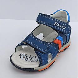 Дитячі сандалії на хлопчика, BiKi розміри: 21-26
