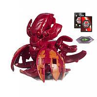 Игровой набор SB Bakugan Haos Krakelios Battle planet Ультра Бакуган Кракелиус Хаос 602-18 Красный