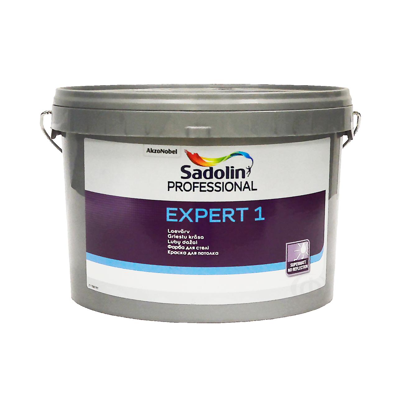 Краска акрилатная SADOLIN EXPERT 1 для потолков база BW