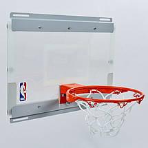 Щит баскетбольный SPALDING 56103CN NBA Arena Slam 180 (поликарбонат, р-р 46x27см, кольцо d-22,5см), фото 3