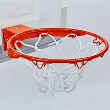 Щит баскетбольный SPALDING 56103CN NBA Arena Slam 180 (поликарбонат, р-р 46x27см, кольцо d-22,5см), фото 2