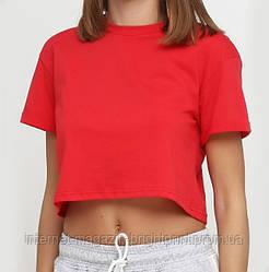 Топ - футболка червона