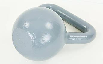 Гиря чугунная окрашенная серая UR TA-0182-12 12кг (чугун, серый), фото 2