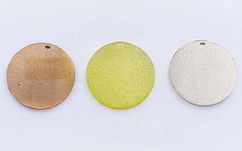 Медаль спортивная без ленты CELEBRITY d-4,5см C-6408 (металл, d-4,5см, 20g 1-золото, 2-серебро, 3-бронза), фото 2