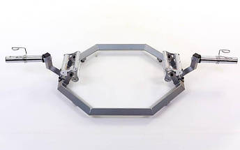 Гриф трэп восьмиугольный или рама для становой тяги AF5001 SUPER HEX TRAP (р-р 168x80x29см, d-5см), фото 2