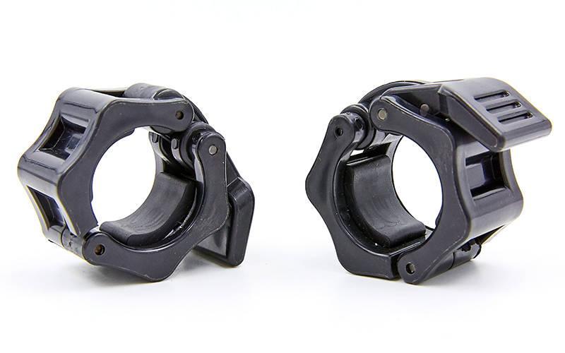 Замки (2шт) Lock-Jaw PRO с фиксатором для грифа 28мм TA-4600-28 (пластик, цена за 2 шт.)