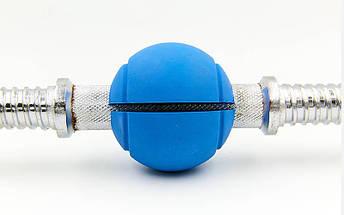 Расширитель хвата шар Handle Grip (1шт) TA-7219 (силикагель, d-7,2см, вес-175гр, синий, цена за 1шт), фото 3