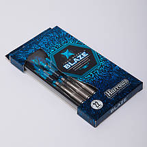 Дротики для игры в дартс цилиндрические BLAZE BD821 (сталь, 3шт.,+3хвост,+3опер), фото 3