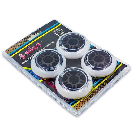 Колеса для роликов (4шт) ZELART SK-4451 80mm 4шт, фото 2