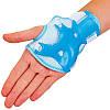 Защита детская наколенники, налокотники, перчатки Record SK-6328BL (р-р S-M-3-12лет, голубой), фото 2
