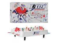 Хоккей 0701  на штангах, на ножках(5,5см),51-28-15см, фигурки 12шт, в коробке, 53,5-29-6см