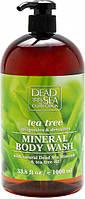 Гель для душу Dead Sea Collection з мінералами Мертвого моря й олією чайного дерева 1000 мл
