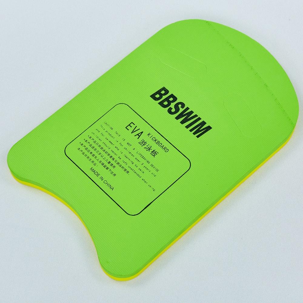 Доска для плавания EVA PL-8002CS (EVA, р-р 29x42x2,4см, цвета в ассортименте)