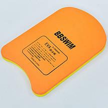 Доска для плавания EVA PL-8002CS (EVA, р-р 29x42x2,4см, цвета в ассортименте), фото 3