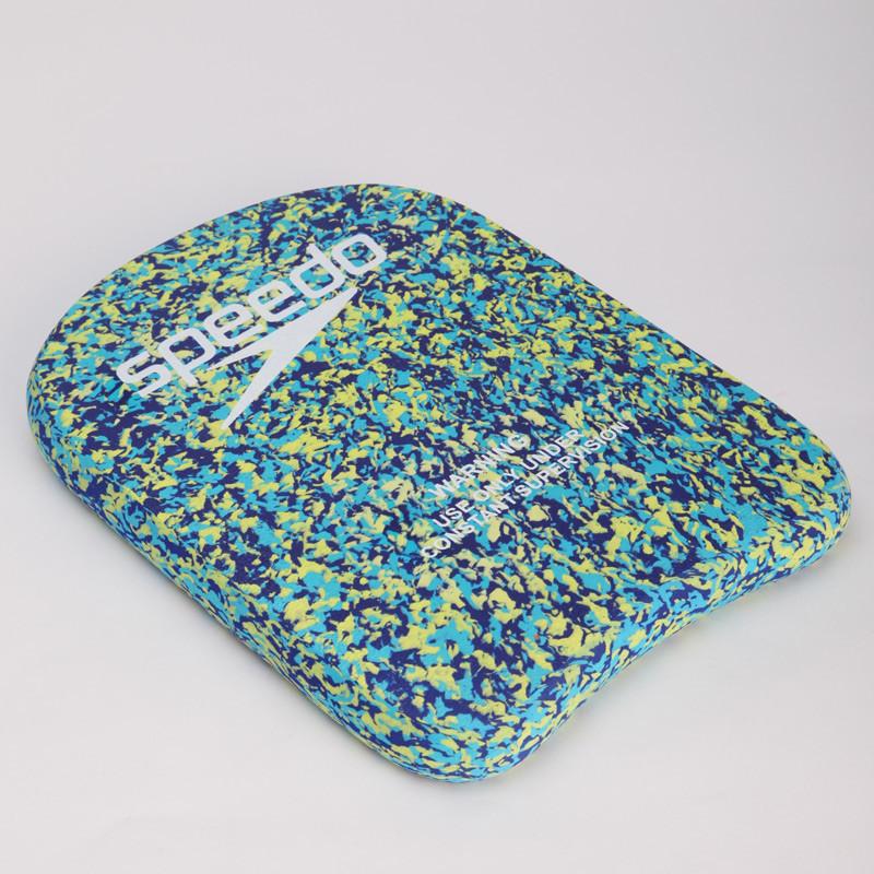 Доска для плавания SPEEDO 802762C953 EVA KICKBOARD (EVA, р-р 33x24x4см, голубой-салатовый)