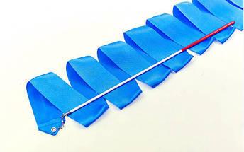 Лента для художественной гимнастики с палочкой 3,3м Lingo C-3249 (нейлон, l-3,3м, палочка-пластик, l-40см, цвета в ассортименте), фото 3