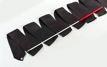 Лента для художественной гимнастики с палочкой 3,3м Lingo C-3249 (нейлон, l-3,3м, палочка-пластик, l-40см, цвета в ассортименте), фото 2