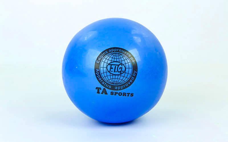 Мяч для художественной гимнастики 20см TA SPORT BA-GB75 (PVC, d-20см, 400гр, цвета в ассортименте)
