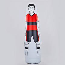 Манекен надувной Футболист FB-0507 (PVC, высота-175см, d-46см, цвета в ассортименте), фото 2